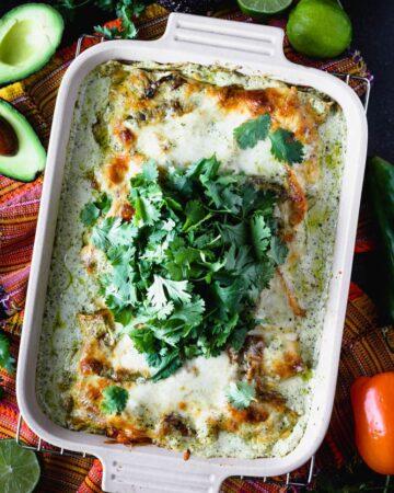 Mexican Chicken Lasagna