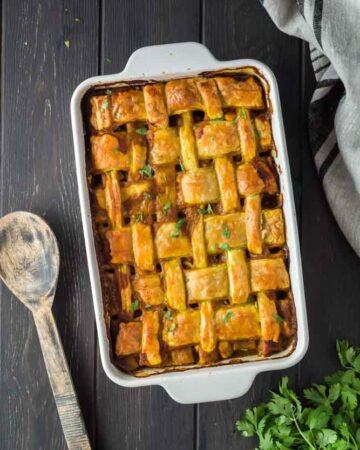 Easy Chicken Curry Pot Pie