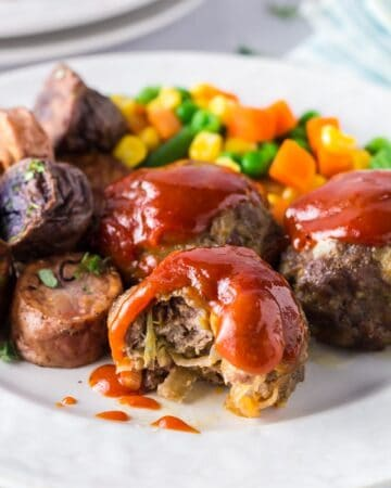 Onion Burger Mini Meatloaf